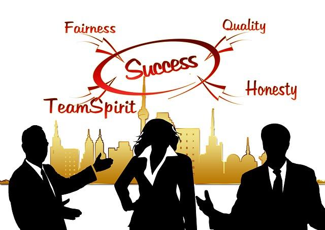 Et team av mennesker