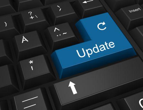 Når oppdaterte du din nettside sist?